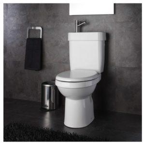 WC à poser 2 en 1 lave mains intégré Planetebain