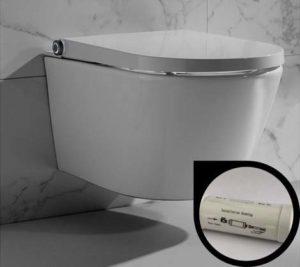Filtre anti-impuretés WC Clean