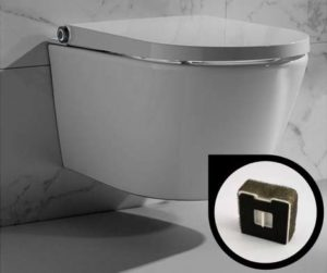 Filtre anti odeur WC clean