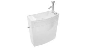 Découvrez le réservoir de WC avec lave-mains intégré