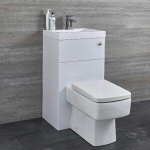WC avec Lave-Mains Hudson Reed Design Cubique